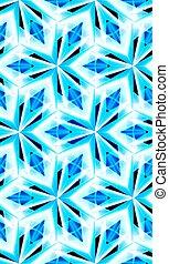 modèle, cristal, texture., seamless