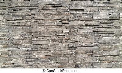Modèle, De, Noir, Ardoise, Mur, Texture, Et, Fond