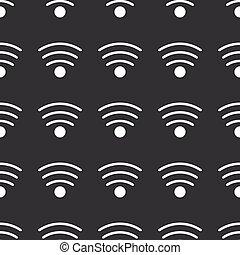 modèle, directement, wi-fi, noir