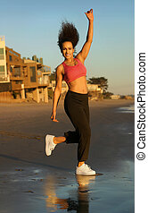 modèle, fitness