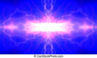 modèle fleur, énergie, éclair