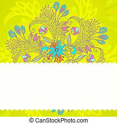 modèle, fleur, seamless, coloré