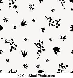 modèle floral, noël, seamless