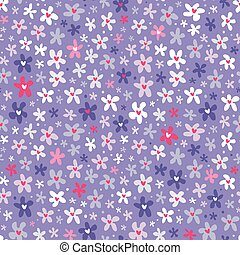 modèle floral, pourpre, seamless