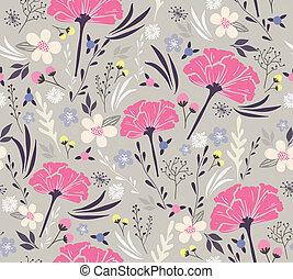 modèle floral, seamless