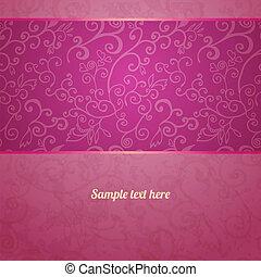 modèle floral, seamless, fond, excellent