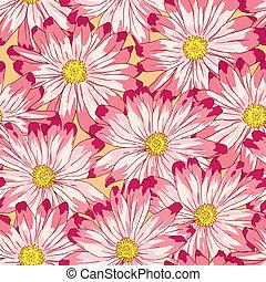modèle floral, seamless, vector.