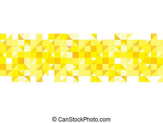 modèle, fond jaune