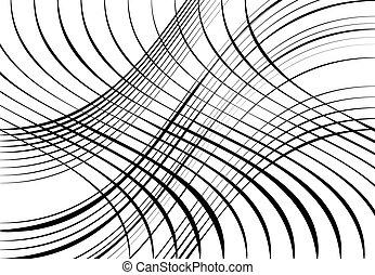 modèle, fond, onduler, ondulant, résumé, texture, ondulé, ...