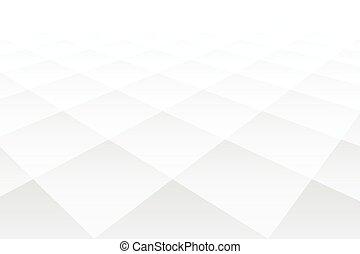modèle, forme, diamant, perspective, style, fond blanc, 3d