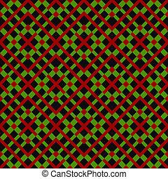 modèle, géométrique, coloré