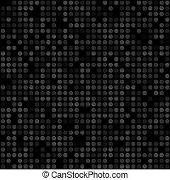 modèle, géométrique, noir, seamless