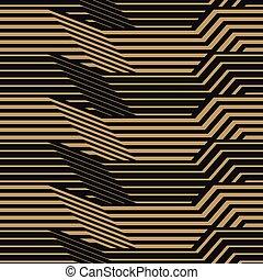 modèle, géométrique, raies