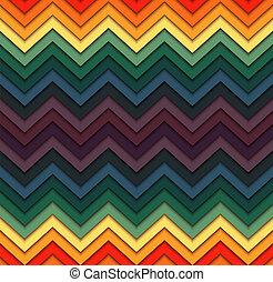 modèle géométrique, seamless, zigzag