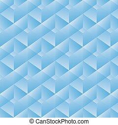modèle géométrique, vecteur, rectangles., illustration, bleu