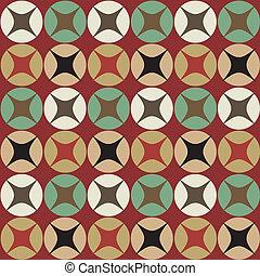 modèle, géométrique, vecteur, seamless, fond