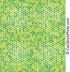 modèle, géométrique, vert, seamless