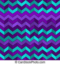 modèle, géométrique, zigzags, seamless