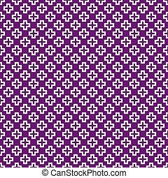modèle, graphique, vecteur, seamless, (tiling)