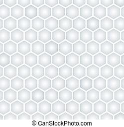 modèle, hexagonal, seamless