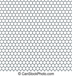 modèle, hexagonal