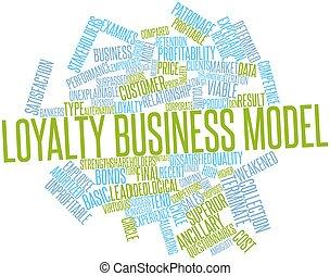 modèle, loyauté, business