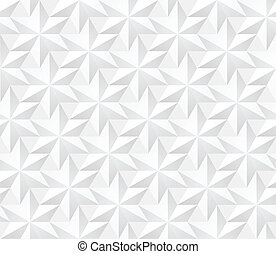 modèle, moderne, -, seamless, vecteur, volum, étoiles, géométrique, hexagonal