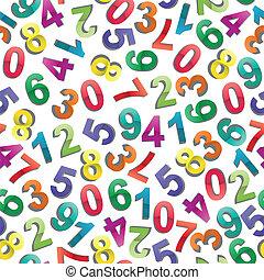 modèle, nombres
