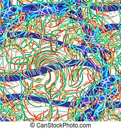 modèle, océan