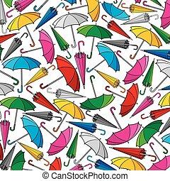 modèle, parapluie, fond