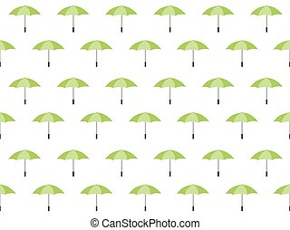 modèle, parapluie, seamless, émeraude