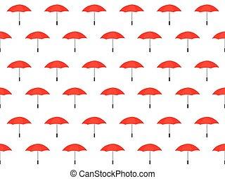 modèle, parapluie, seamless, fond