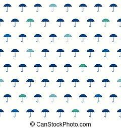 modèle, parapluie, seamless