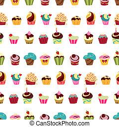 modèle, petits gâteaux