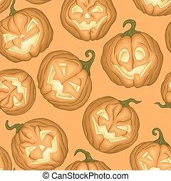 modèle, potirons, halloween