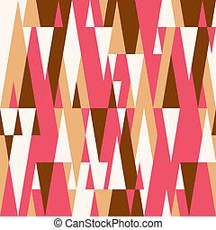 modèle, résumé, coloré, géométrique, fond