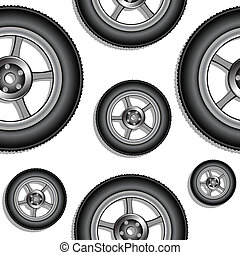 modèle, roues