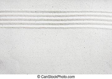 modèle, sable, fond