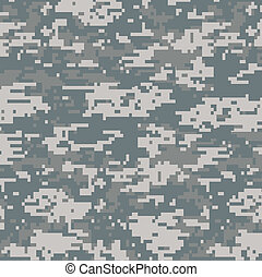 modèle, seamless, camouflage, numérique