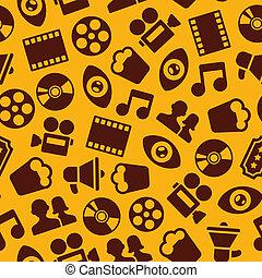 modèle, seamless, cinéma