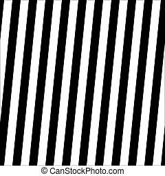 modèle, seamless, illustration, arrière-plan., vecteur, noir, rayé, blanc