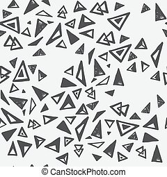 modèle, seamless, triangles
