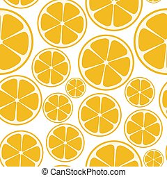 modèle, seamless, vecteur, résumé, fond, illustration, citrus
