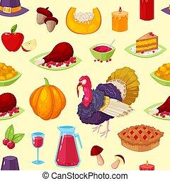 modèle, thanksgiving, jour