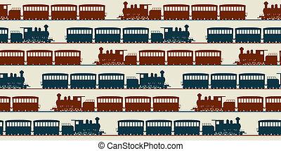 modèle, train, seamless