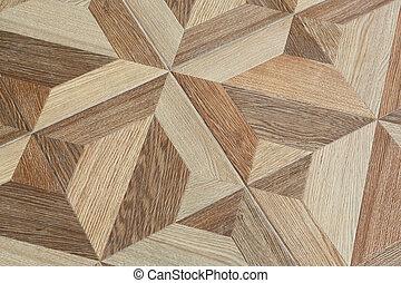 modèle, tuiles, grain bois, plancher