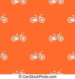 modèle, vélo, seamless