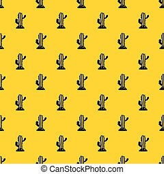 modèle, vecteur, cactus