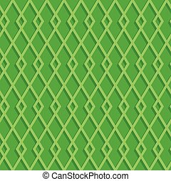 modèle, vert, seamless, fond, rhombuses