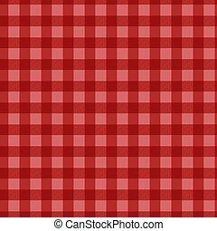 modèle, vichy, checkered, rouges, plaid